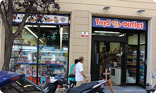Tienda juguetes Toys Outlet L'Hospitalet de Llobregat