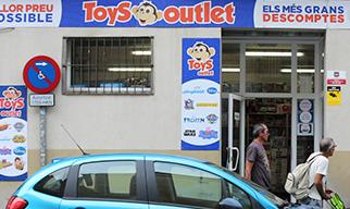 Tienda juguetes Toys Outlet Sant Adrià del Besòs